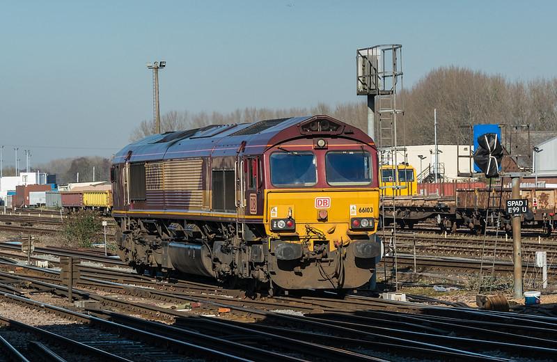 66103 Eastleigh 15 February 2019
