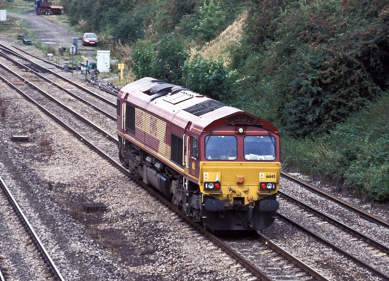 66145 at South Moreton on 18 August 2004