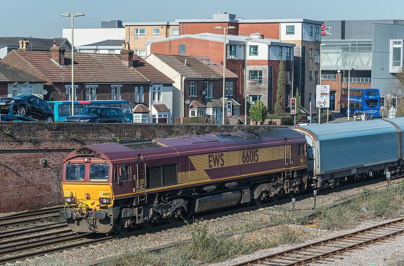 66015 Eastleigh 15 February 2019