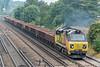 70815 Worting Jn. 16 September 2021 with 6O26 Hinksey - Eastleigh