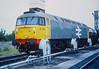 47220 sits at Bristol Bath Road on 4 July 1986