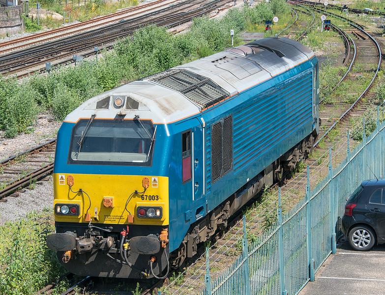 67003 Eastleigh 3 July 2015
