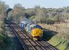 37407 + 66031 0L33 Eastleigh Arlington to Willesden St. Cross, Winchester 16 April 2021