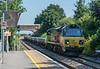 70815 Radley 16 July 2021   6O26 Hinksey to Eastleigh