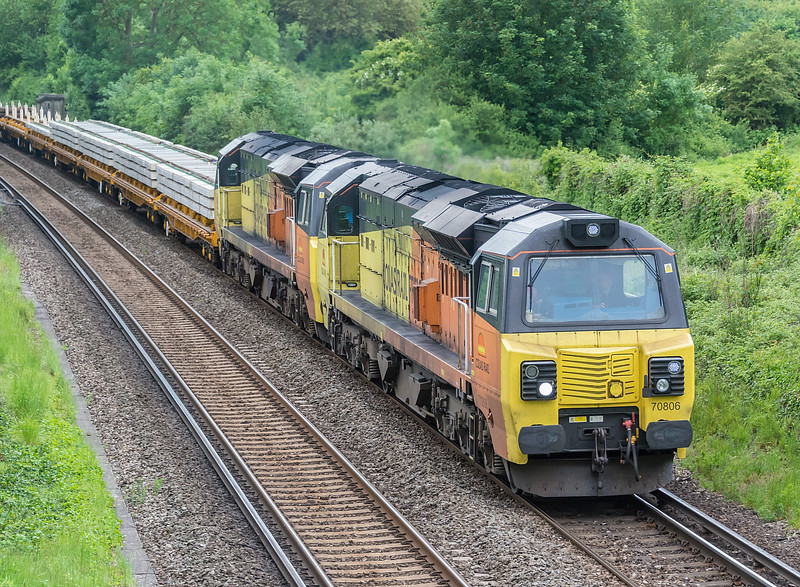 70806 + 70807 Winchester 30 May 2019