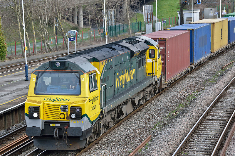 70020 Millbrook 4 March 2014