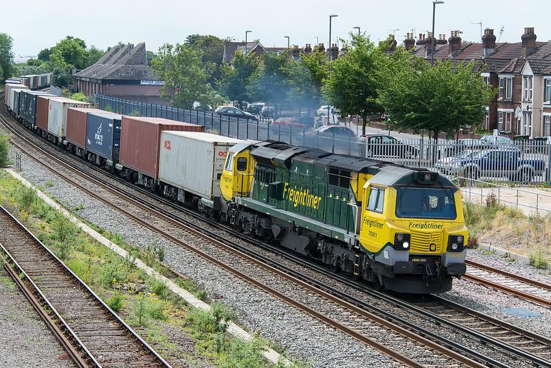 70001 Eastleigh 3 July 2015