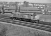 37696 runs light engine through Newport in May 1988