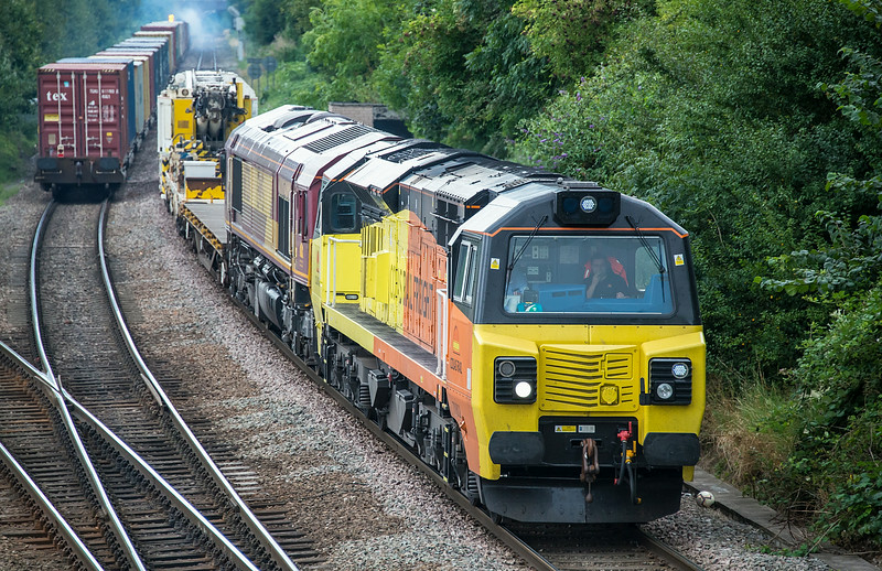 70802 + 66128  Water Orton 12 August 2014