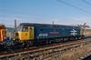 Retro-blue (!) 47635 Peterborough 28 November 2003
