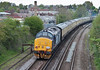 """37409 brings up the rear of """"The Hampshire Hotchpotch"""" railtour at Petersfield on 5 May 2012"""