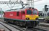 92042 runs light engine through Crewe on 1 June 2012