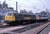 Freightliner locos 86426 and 86633 at Ipswich on 18 August 2002