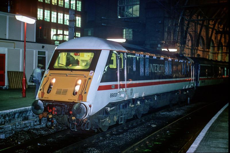89001 Kings Cross 26 January 1989