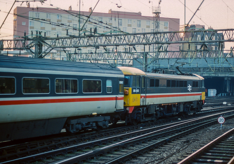 86418 Euston 26 January 1989