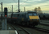 91031 pulls into Doncaster with a down passenger service on 28 November 2003