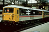 73123 'Gatwick Express' is pictured working its namesake services at London Victoria on 28 May 1984