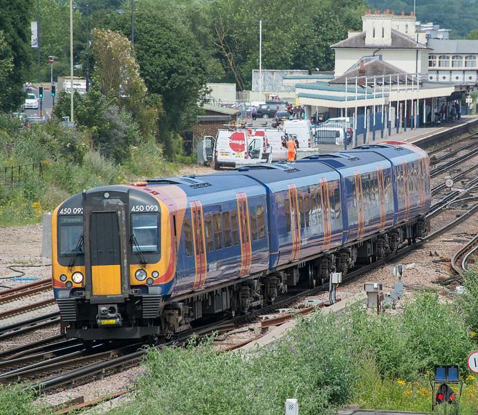 450093 Eastleigh 3 July 2015