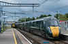 802017 Newbury Racecourse 31 August 2019 with 1A80 Penzance to Paddington
