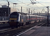 43109 'Scone Palace' leads the daily Inverness-bound service through Doncaster on 28 November 2003