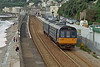 FGW 142068 departs from Dawlish with the Exmouth service on 20 August 2008