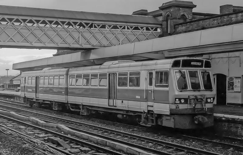 55539 + 55519 Wakefield Westgate 10 January 1985