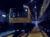 Class 107 DMBS SC52007 heads its set inside Ayr depot on 10 November 1985