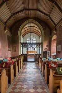 St Mary's - West Somerton (interior)