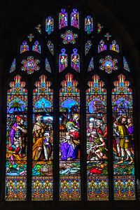East Nave Window - nativity of Jesus