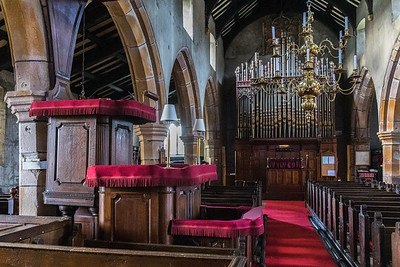 Three decker pulpit - St Andrew - Slaidburn
