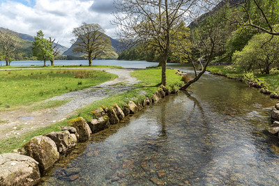 Buttermere outlet