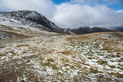 View towards Allen Crags & Glaramara