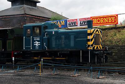 1) 03 066 at Barrow Hill on 21st September 2012