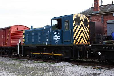 03162 at Carrog on 7th October 2006