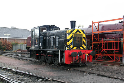 D2073 at Crewe Heritage Centre on 24th January 2010