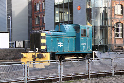 2) 06 003 at Manchester Museum of Science & Industry on 3rd January 2012