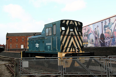 1) 06 003 at Manchester Museum of Science & Industry on 3rd January 2012
