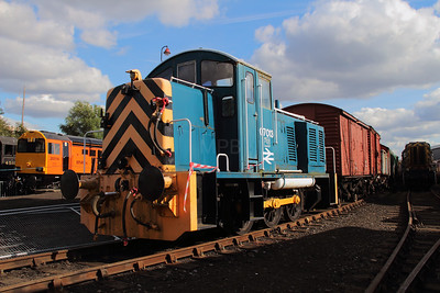 1) 07 013 at Barrow Hill on 22nd September 2012