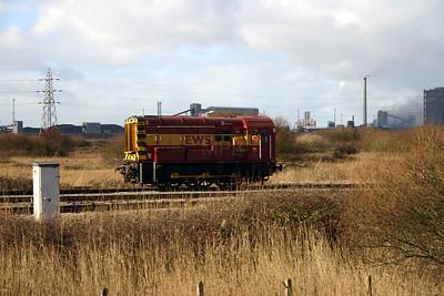 08 630 at Margham Yard on 7th February 2004