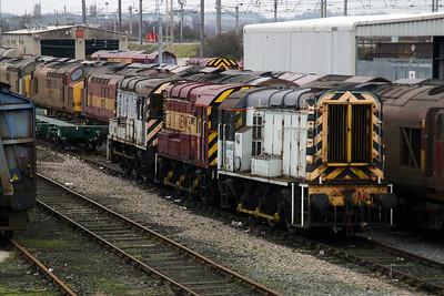 08 460 at Warrington Arpley on 14th December 2004