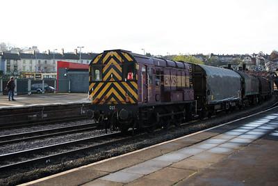 09 105 at Newport on 26th November 2005, 8E01 0930 Newport Docks-Llanwern