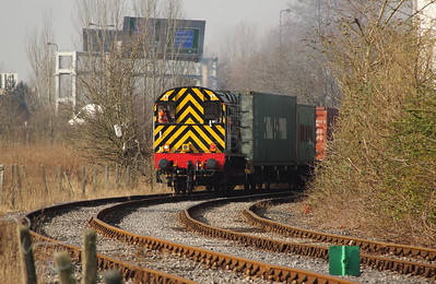 1) 09 002 at Barton Dock Estate on 7th February 2012