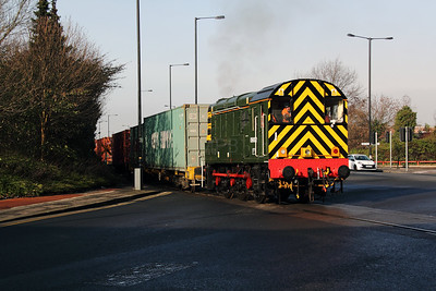 2) 09 002 at Trafford Park on 7th February 2012