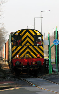1) 09 002 at Trafford Park on 7th February 2012