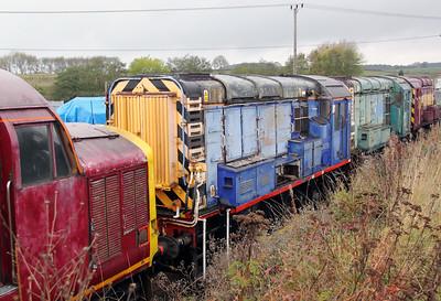09 019 at Barrow Hill on 30th October 2011
