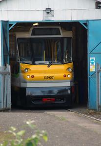 1) 139 001 at Stourbridge Junction on 2nd November 2016