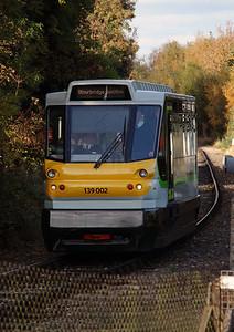 139 002 at Stourbridge Junction on 2nd November 2016