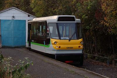 2) 139 001 at Stourbridge Junction on 2nd November 2016