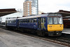142 032 at Salford Central on 31st March 2008 working to Wigan Wallgate