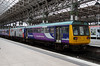 142 031 at Manchester Piccadilly on 28th June 2014 (2)